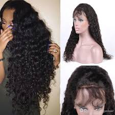 crochet hair wigs for sale brazilian virgin human hair wigs for black women deep wave lace