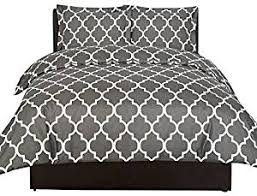 Duvet Covers Gray Amazon Com Grey Duvets Covers U0026 Sets Bedding Home U0026 Kitchen
