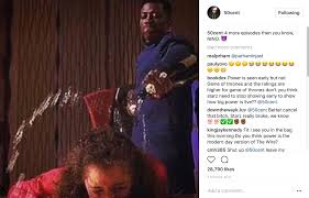 50 cent proves again why power u0027s better than game of thrones u201ci