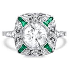 ring best art deco engagement rings ideas on pinterest ringr