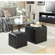 mainstays faux suede ultra storage ottoman multiple colors