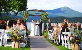 adirondack wedding venues outdoor venues for adirondack weddings receptions