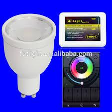 mi light best selling wireless gu10 rgb led light bulb wifi 2 4g