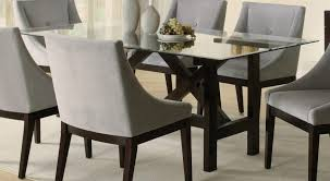 rectangular glass top dining room tables round glass top dining table set glass metal dining table
