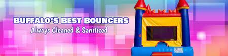 bounce on air llc party rentals bounce houses buffalo ny