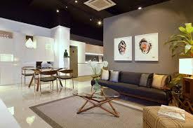 Residential Interior Showroom Evoking An Urban Feel Lifestyle - Modern residential interior design