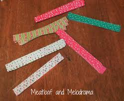 easy christmas countdown chain meatloaf and melodrama
