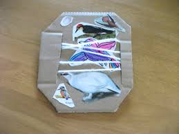 simple and easy bird cage collage craft the concept is making a