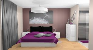awesome chambre couleur prune et beige photos design trends 2017