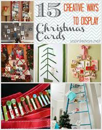 15 creative ways to display christmas cards jenna burger