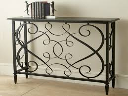 Wrought Iron Console Table Iron Console Table Design Console Table Great Ideas For Iron