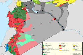 map of syria the high school student who maps s lightning advance