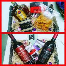 custom gift baskets his and hers custom gift baskets from calandrosmkt on perkins are