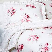 sunbleached floral comforter set full queen pink 3pc simply