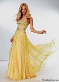 yellow prom dresses 2016 2017 b2b fashion