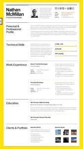 beautiful resumes beautiful resume templates free best communication