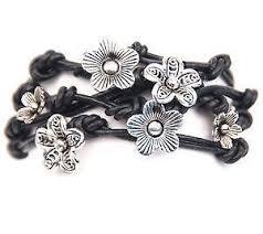 black bead bracelet ebay images Handmade bracelet ebay JPG