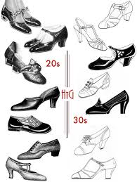 women s shoes 1920s style 1920s and 1930s