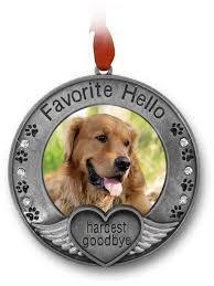 personalized dog photo album pet memorial ornament picture ornament for a pet