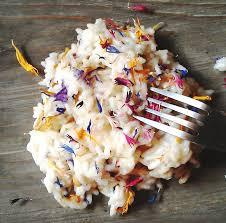 risotto recipe alpine flower risotto recipe from piedmont