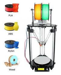 Delta Woodworking Machinery South Africa by He 3d K280 Delta 3d Printer Kit Open Source Delta 3d Printer