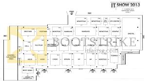 Map Floor Plan Floor Plan Map Level 1 Mbs It Show 2013 Price List Brochure Flyer