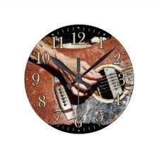 themed clocks themed wall clocks zazzle