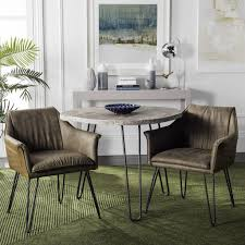 mid century modern dining room sets fox1705a set2 dining chairs furniture by safavieh