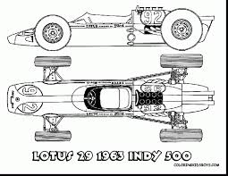 impressive indy race car coloring pages with race car coloring
