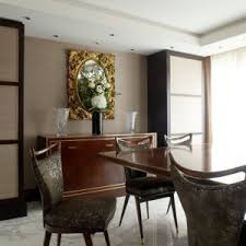 gold sideboard reference for contemporary dining room with