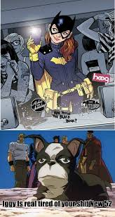 Batgirl Meme - new 52 batgirl is a hipster by sgt spork meme center