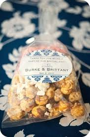 popcorn wedding favors 15 best favors images on popcorn bags popcorn favors