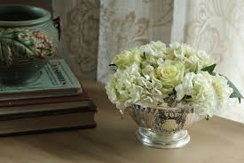 white floral arrangements january floral inspiration winter white and metal my sweet cottage