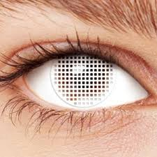 blind mesh contacts halloween contacts superstore