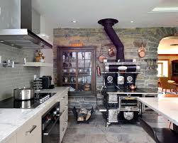 Small White Kitchen Small Kitchen 30 Inventive Kitchens With Stone Walls