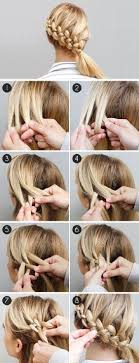step to step hairstyles for medium hairs 15 easy step by step hairstyle tutorials pretty designs