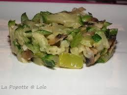 cuisiner des courgettes à la poele poêlée de courgettes et chignons la popotte