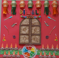 Decorations For Diwali At Home How To Make A Diwali Scrapbook Page Hobby Mela