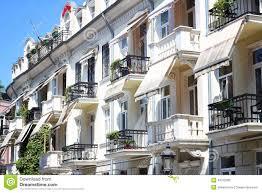 Beautiful Balcony Hotel With Beautiful Balconies Stock Photo Image 43722383