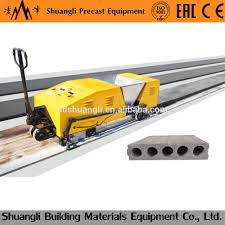 precast concrete hollow core wall panel machine precast concrete