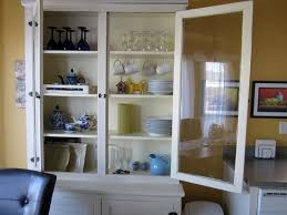 Kitchen Cabinet Displays by Metal China Cabinet Hooker Mottisfont Painted Flour Dresser