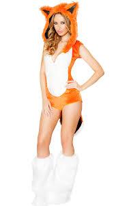 Size Animal Halloween Costumes Fox Halloween Costume Orange Fox Costume