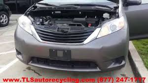 parting out 2012 toyota sienna stock 4041gy tls auto recycling