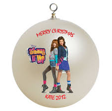 personalized shake it up cece and rocky ornament gift