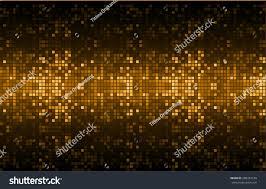 dark orange color light abstract pixels stock vector 268352120