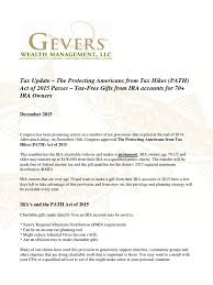 will rmd to charity 2015 tax update charitable extender s bill passes again gevers