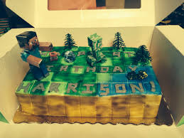 minecraft publix u0027s cake party ideas cake birthday