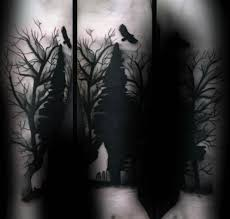 100 silhouette designs for shadowy illustration