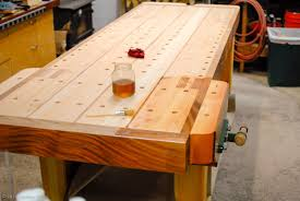 best workbench surface bench decoration applying finish to the workbench top the bench blog woodworking bench top