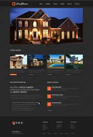 real estate agency website template 39509
